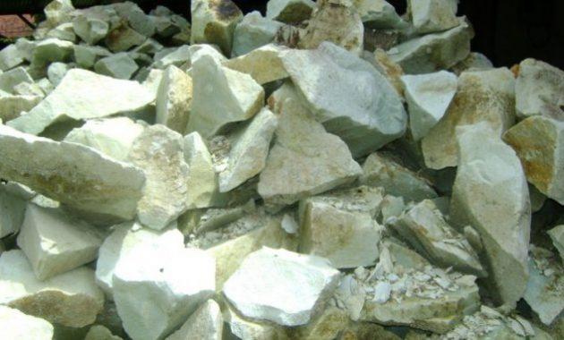 batu untuk pembuatan filter koi