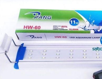 lampu yang hw-60 cocok untuk penerangan aquarium saat malam
