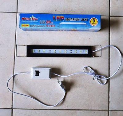 lampu led untuk dipasang di aquarium bagian atas