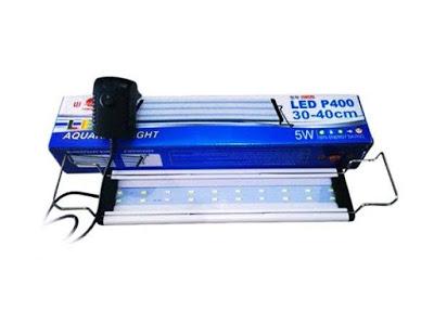 Lampu Yamano P400 untuk menerangi aquarium yang kecil