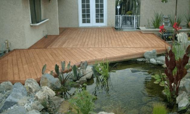 kolam koi minimalis untuk teras rumah